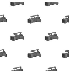 Camcorder icon in cartoon style isolated on white vector