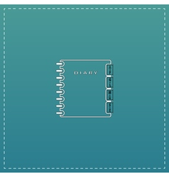 Organizer icon vector