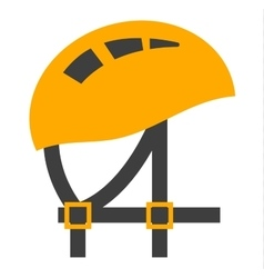 Helmet element safety tool vector