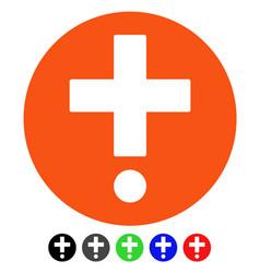 Pharmacy flat icon vector
