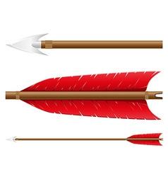 arrow for bow vector image