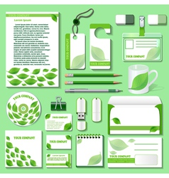Design template for business objects vector