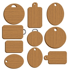 Cutting kitchen board vector