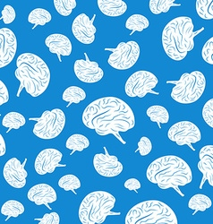 Abstract background human brain vector image vector image