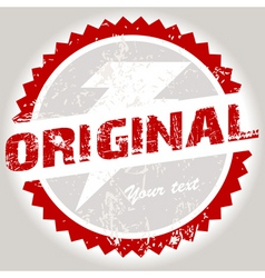 grunge stamp vector image vector image
