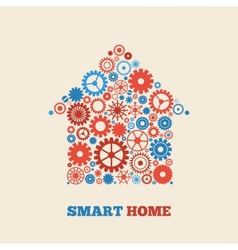 Home technology vector