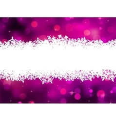Purple background with snowflakes EPS 8 vector image