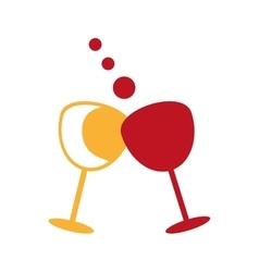 wine liquor beverage vector image