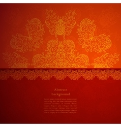 Indian style background vector