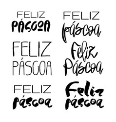 decorative handdrawn lettering vector image