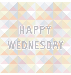 Happy wednesday background2 vector