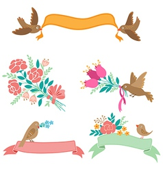 Decorative banners vector