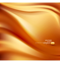 satin gold abstract background vector image vector image