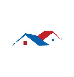 Simple house icon logo vector