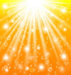 Sun rays and light effects vector