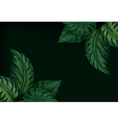 Eight leaves vector