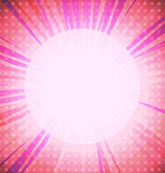 Pink light background vector