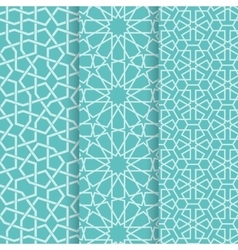 Islamic patterb vector