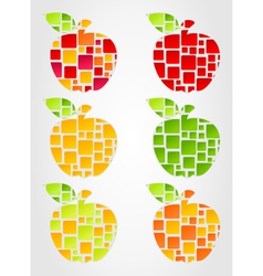 apple design vector image vector image