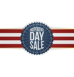 Independence Day Sale modern graphic Banner vector image