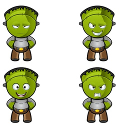 Monster Hands On hips vector image vector image