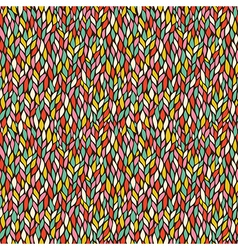 seamless abstract hand-drawn pattern endless vector image