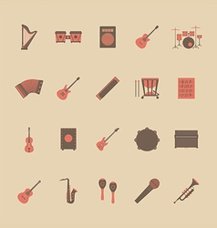 134music icon vector