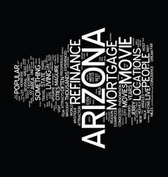 Live like a star with refinance mortgage arizona vector