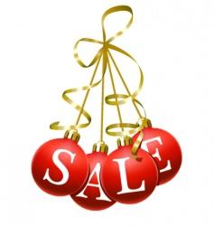 Christmas sales symbol vector image vector image