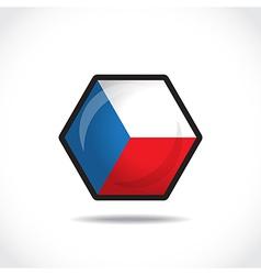 Czech republic icon vector image vector image