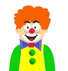 Happy clown vector