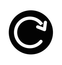 return round icon vector image