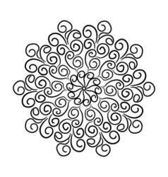 RoundPattern4 vector image vector image
