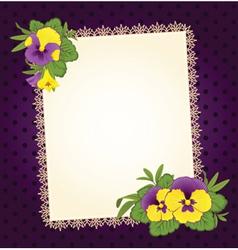 Scrapbooking background vector image vector image