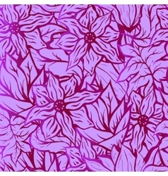 Seamles background with bright floral pattern of vector image