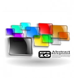 abstract color background eps vector image