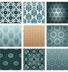 retro wallpaper vector image