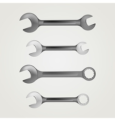 Wrenches vector
