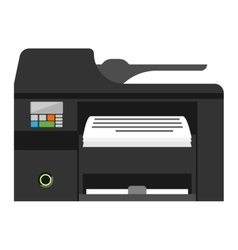 Copy machine vector image