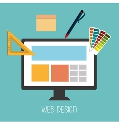 Web development design vector