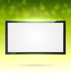 green frame vector image