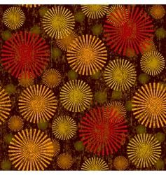 retro seamless vector image vector image