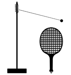 Swingball vector image vector image