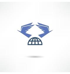Pigeon icon vector image