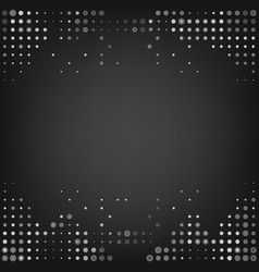 Grey dot abstract background vector