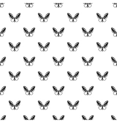Little butterfly pattern simple style vector