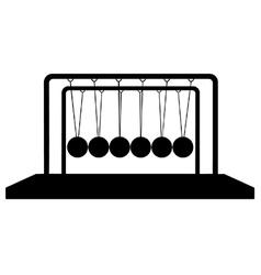 Newtons cradle vector