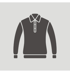 Polo jumper icon vector image vector image