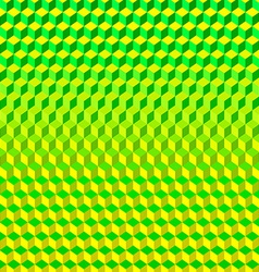 Psychodelic Background from Cubes vector image