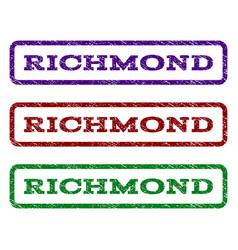 Richmond watermark stamp vector